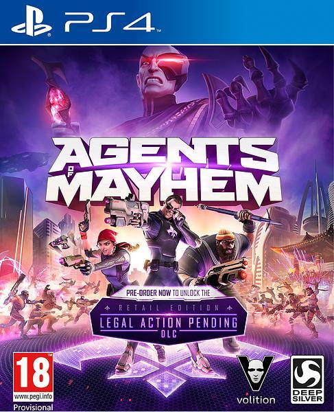 Bild på Agents of Mayhem från Prisjakt.nu
