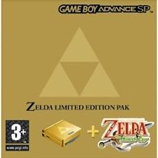 Nintendo Gameboy Advance SP - Zelda Limited Edition
