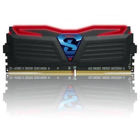 GeIL Super Luce Black/Red LED DDR4 3000MHz 2x8GB (GLR416GB3000C16DC)