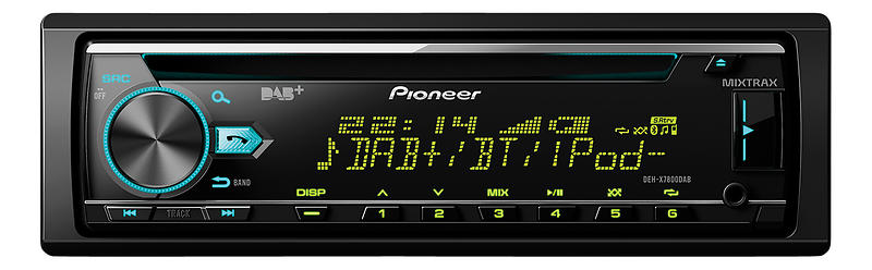 best deals on pioneer deh x7800dab car stereo compare. Black Bedroom Furniture Sets. Home Design Ideas