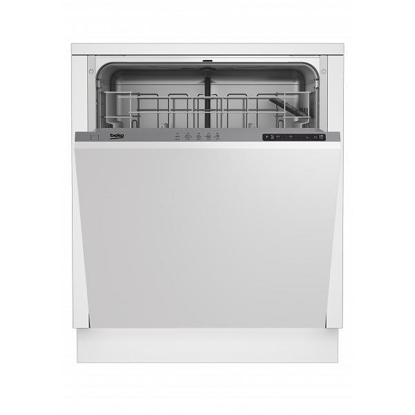 beko din15212 au meilleur prix comparez les offres de lave vaisselle sur led nicheur. Black Bedroom Furniture Sets. Home Design Ideas