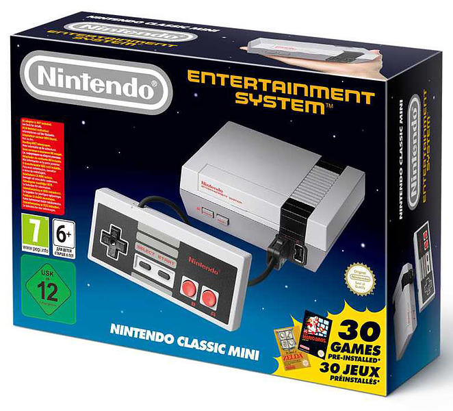 Bild på Nintendo Classic Mini NES från Prisjakt.nu