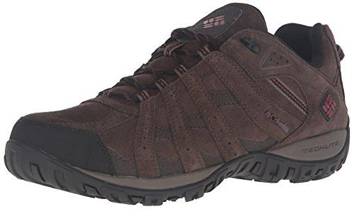 Columbia Men S Redmond Leather Omni Tech Waterproof Hiking Shoes