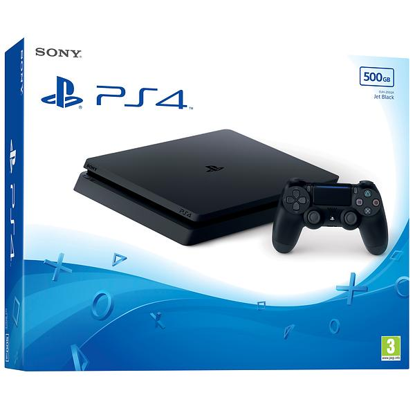 Bild på Sony PlayStation 4 Slim 500GB från Prisjakt.nu