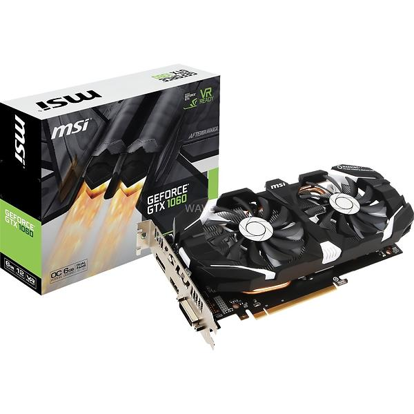 MSI GeForce GTX 1060 Dual Fans OC V1 HDMI DP 6GB