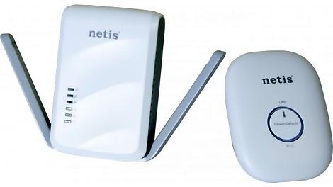 Netis AV600 Wireless Powerline Adapter Kit