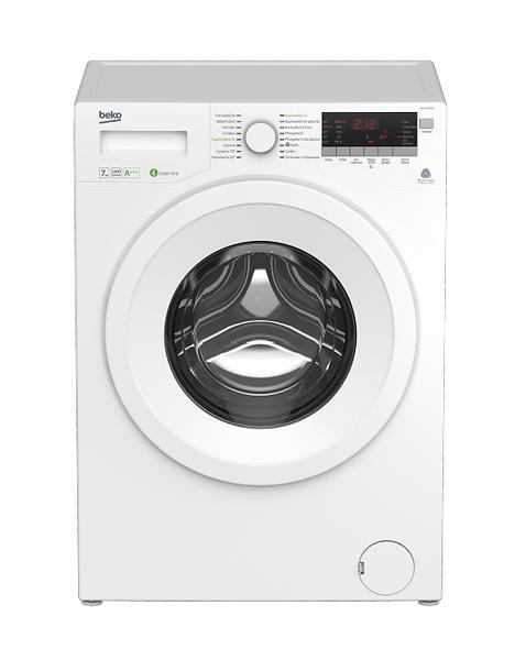 beko wya71483le blanc au meilleur prix comparez les offres de machine laver sur led nicheur. Black Bedroom Furniture Sets. Home Design Ideas