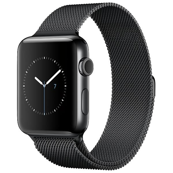 Apple Watch Series 2 38mm Stainless Steel with Milanese Loop