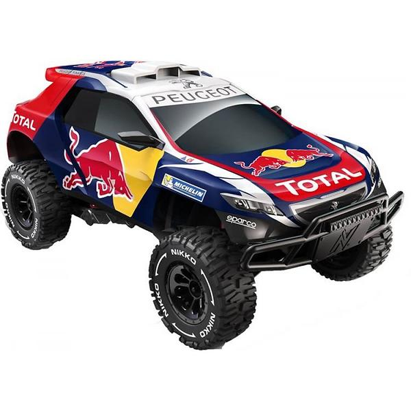 nikko rc elite peugeot 2008 dkr 15 red bull 1 14 rtr au meilleur prix comparez les offres de. Black Bedroom Furniture Sets. Home Design Ideas