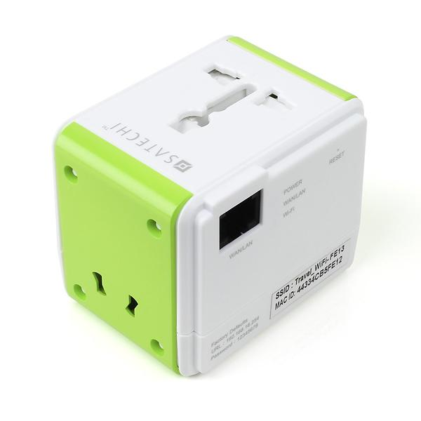 Bild på Satechi Smart Travel Router / Travel Adapter with USB Port från Prisjakt.nu
