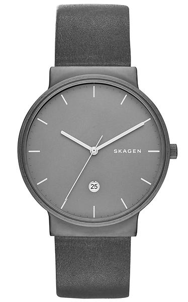 Buy Skagen Men's 'Klassik' Quartz Stainless Steel and Leather Dress Watch, Color:Brown (Model: SKW) and other Wrist Watches at rexaxafonoha.tk Our wide selection is eligible for free shipping and free returns.