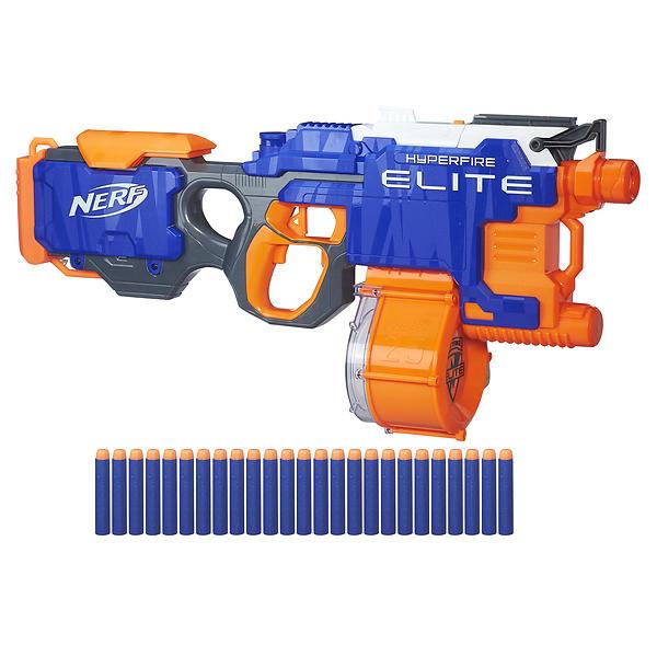 Best deals on NERF N-strike Elite Hyperfire Blaster NERF-Guns - Compare  prices on PriceSpy