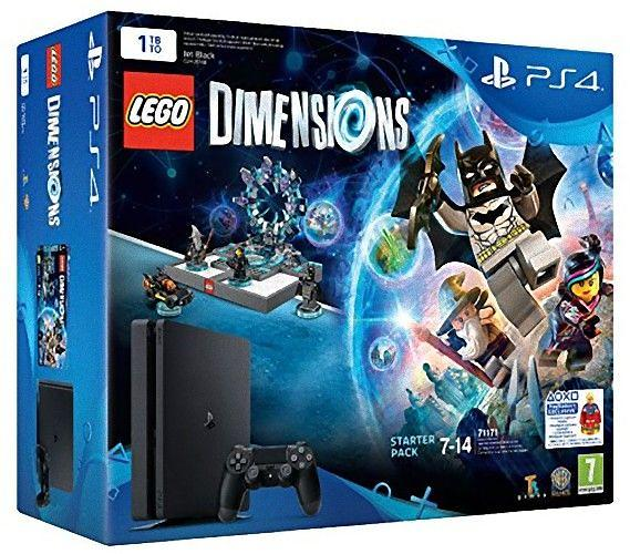 Sony PlayStation 4 Slim 1TB (+ Lego: Dimensions)