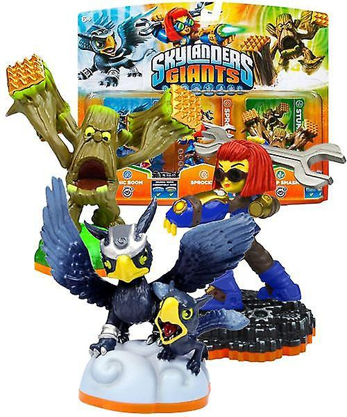 Skylanders Giants - Sonic Boom/Sprocket/Stump Smash - 3 Pack