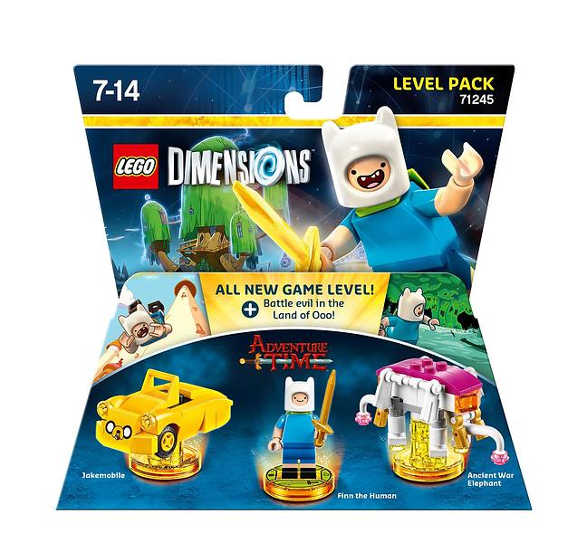 LEGO Dimensions 71245 Adventure Time Level Pack