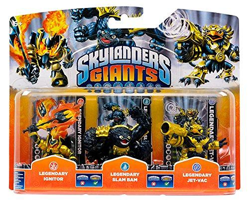Skylanders Giants - Legendary Ignitor/Slam Bam/Jet Vac - 3 Pack