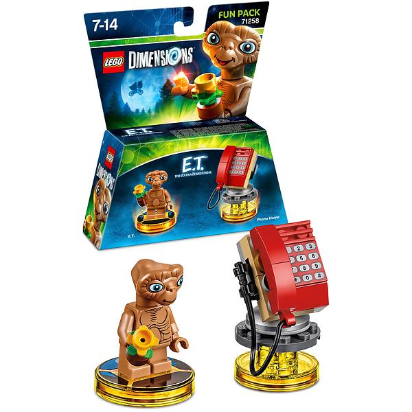 LEGO Dimensions 71258 E T  The Extra-Terrestrial Fun Pack