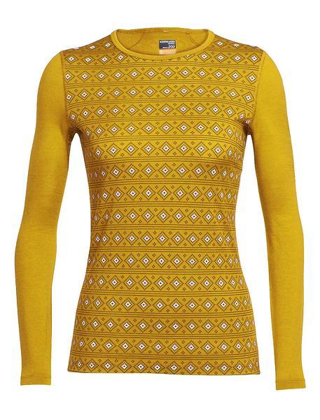 Icebreaker Oasis Crewe Align LS Shirt (Donna)