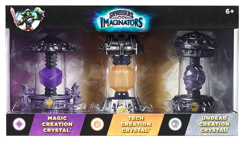 Skylanders Imaginators - Magic/Tech/Undead - 3 Pack