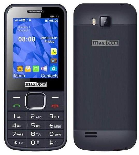 maxcom mm141 au meilleur prix comparez les offres de t l phone portable sur led nicheur. Black Bedroom Furniture Sets. Home Design Ideas