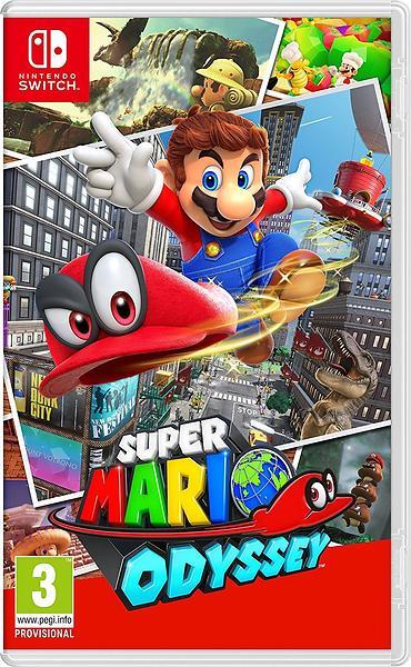 Bild på Super Mario Odyssey från Prisjakt.nu
