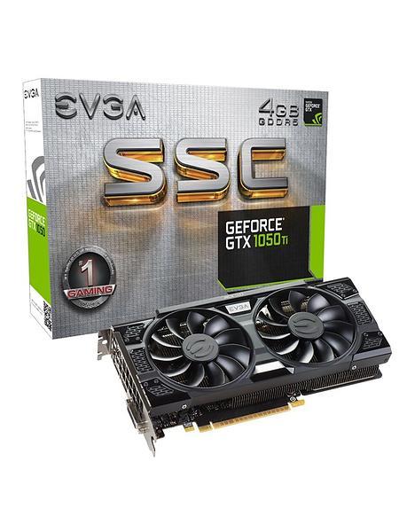 EVGA GeForce GTX 1050 Ti SSC Gaming HDMI DP 4GB