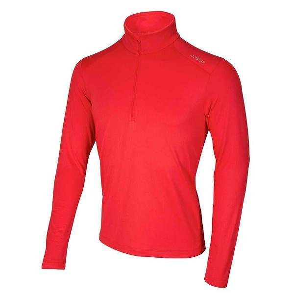 CMP Man Sweat LS Shirt Half Zip (Uomo)