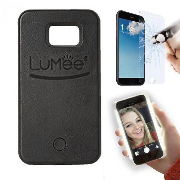 LuMee Selfie Light Case for Samsung Galaxy S6