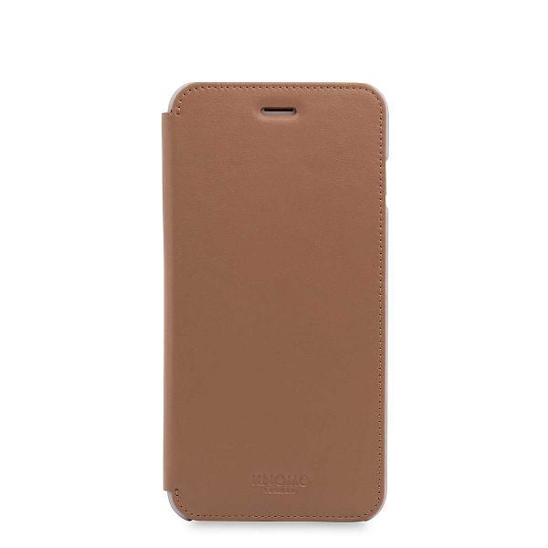 timeless design 8c8cf 3e11e Knomo Leather Folio for iPhone 7 Plus/8 Plus Best Price   Compare ...