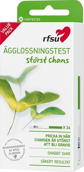 Jämför priser på RFSU Ägglossningstest Sticka 14-pack Ägglossningstest - Hitta  bästa pris på Prisjakt 736a30423bf4e