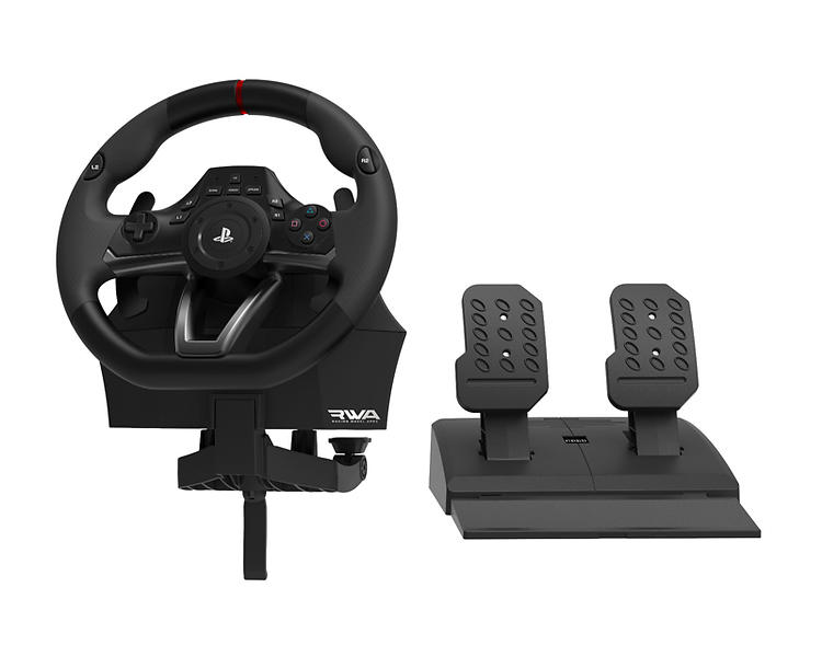 j mf r priser p hori racing wheel apex rwa pc ps4 ps3 ratt pedaler hitta b sta pris p. Black Bedroom Furniture Sets. Home Design Ideas