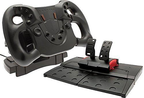 les meilleures offres de venom pace racing wheel ps4 volant p dale comparez les prix sur. Black Bedroom Furniture Sets. Home Design Ideas