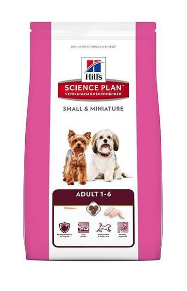 Hills корм для собак мелких и миниатюрных