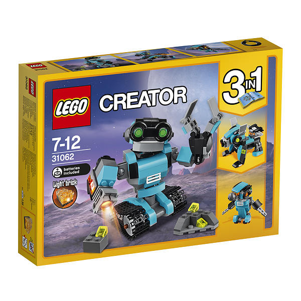 Best deals on LEGO Creator 31062 Robo Explorer LEGO - Compare ...