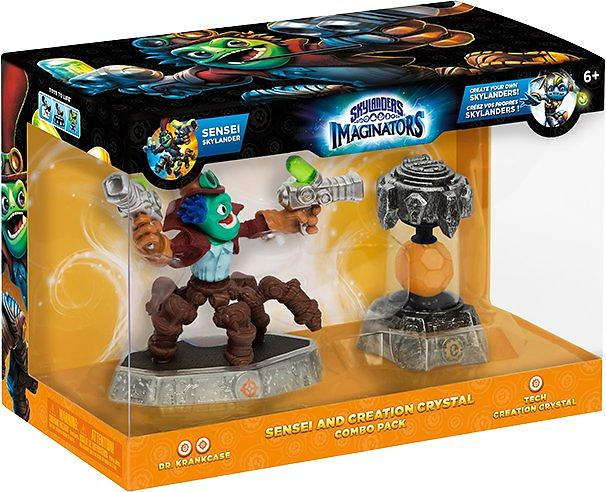 Skylanders Imaginators - Sensei and Creation Crystal Combo Pack 3