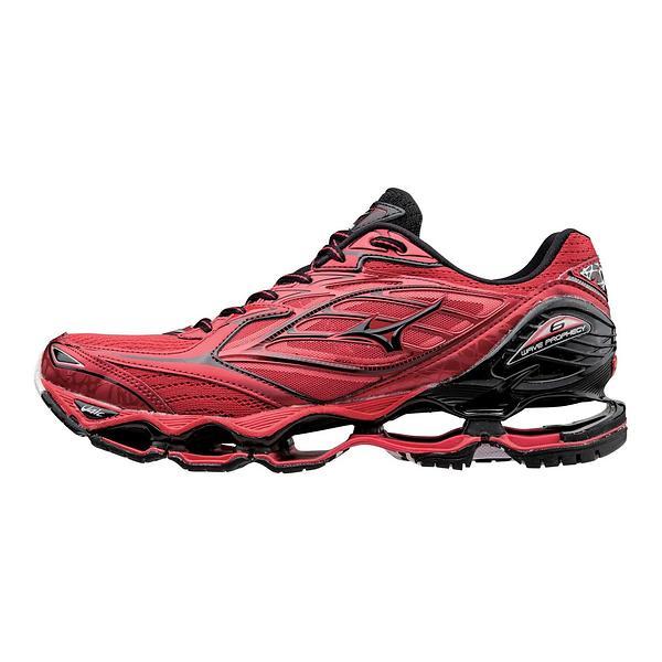 Mizuno WAVE PROPHECY 6 - Chaussures de running neutres rouge 5h5jRm