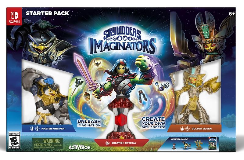 Skylanders Imaginators - Starter Pack (Switch)
