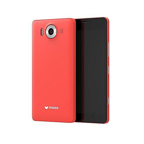 Mozo Accessories Wireless Charging Back Cover for Microsoft Lumia 950