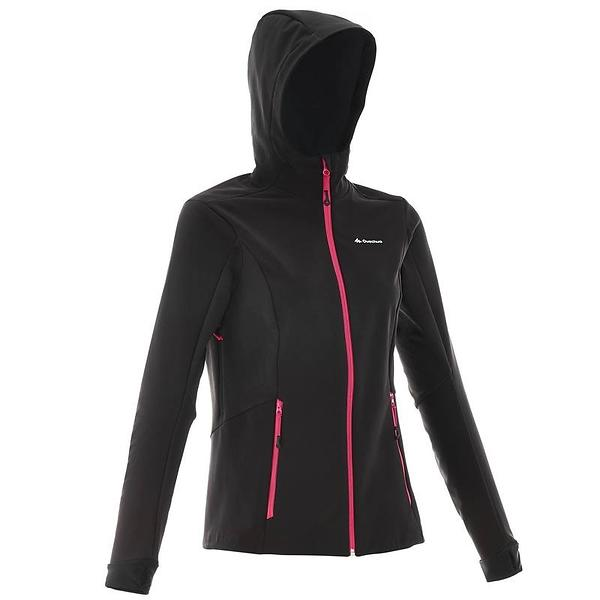 Quechua WindWarm 500 Hiking Softshell Jacket (Donna)