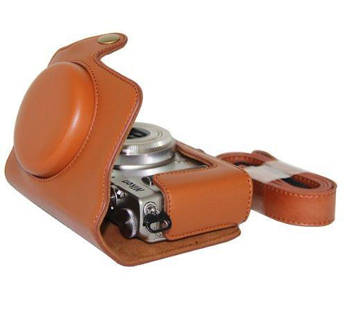 MegaGear Ever Ready Leather Case for Nikon Coolpix A
