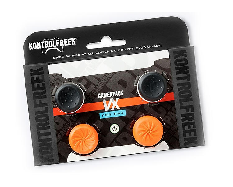 KontrolFreek FPS Freek VX GamerPack  MidRise Thumbsticks PS4