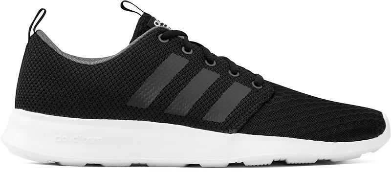 adidas cloudfoam black sports direct