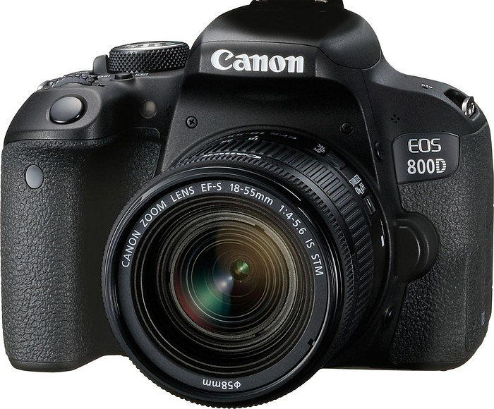 Canon EOS 800D + 18-55/4,0-5,6 IS STM