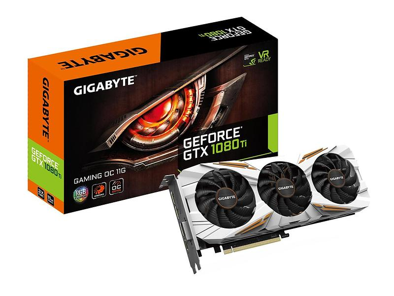 les meilleures offres de gigabyte geforce gtx 1080 ti gaming oc hdmi 3xdp 11go carte graphique. Black Bedroom Furniture Sets. Home Design Ideas