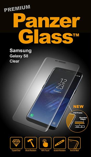 PanzerGlass Premium Screen Protector for Samsung Galaxy S8