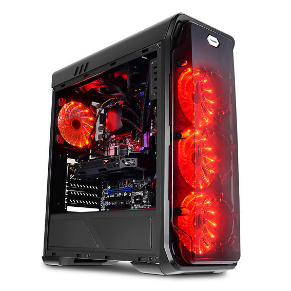 LC-Power Gaming 988B (Nero/Trasparente)