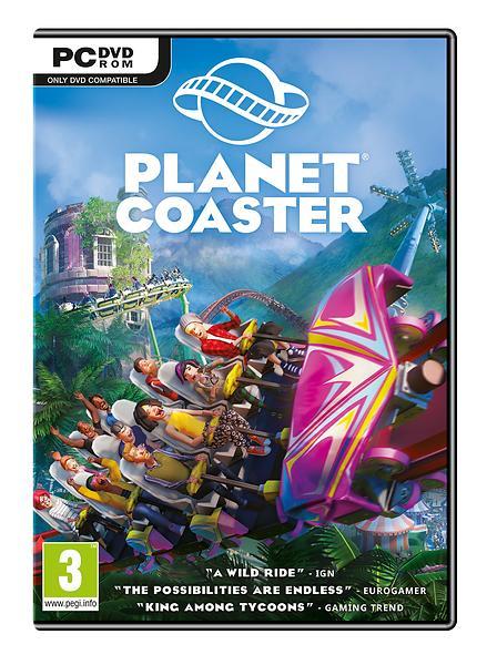 Bild på Planet Coaster från Prisjakt.nu