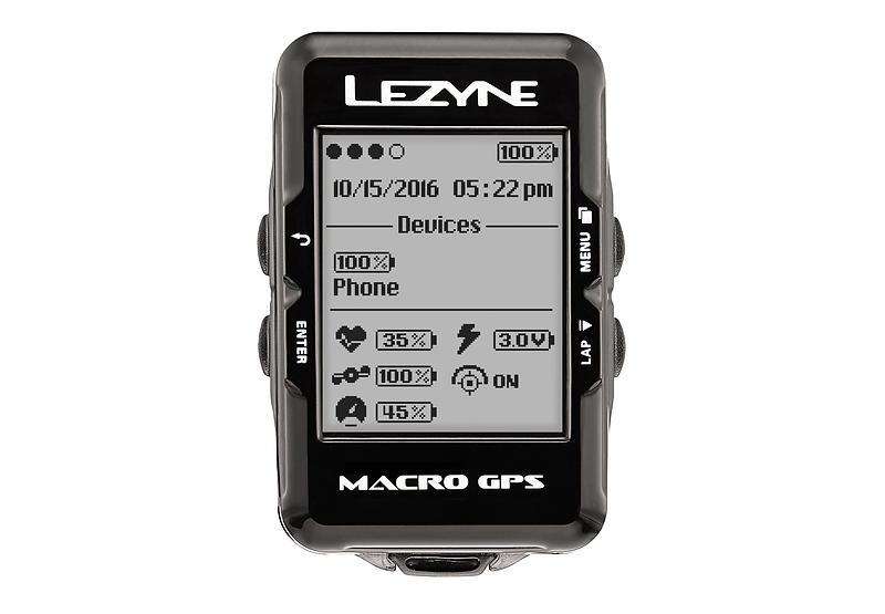 Lezyne Macro GPS HR/SC