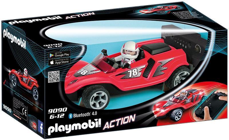 playmobil action 9090 voiture de course rouge radiocommand e au meilleur prix comparez les. Black Bedroom Furniture Sets. Home Design Ideas