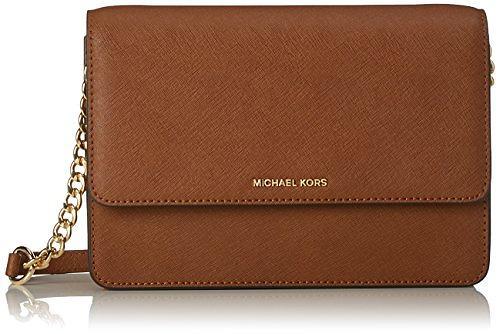 Michael Kors Daniela Large Leather Crossbody Bag